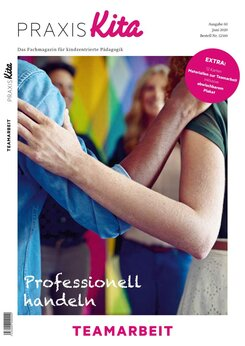 "Cover PRAXIS Kita ""Professionell handeln"" Teamarbeit"