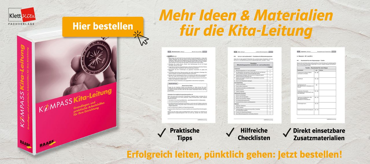 Evaluation in der Kita Kompass Kita-Leitung