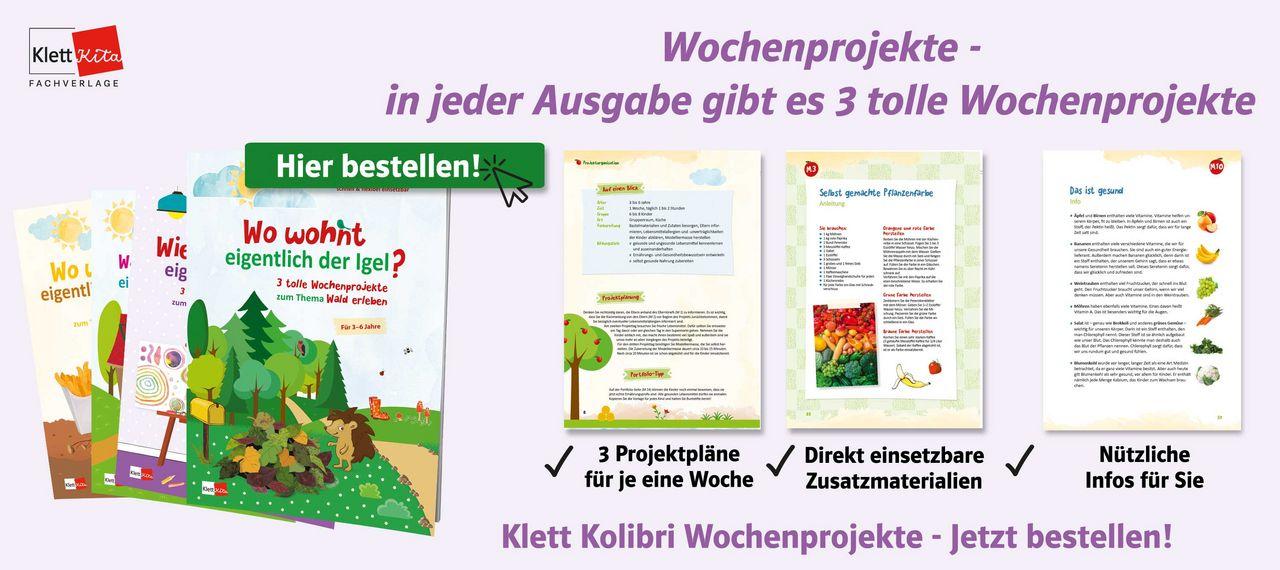 Spielideen Wald Wochenprojekte