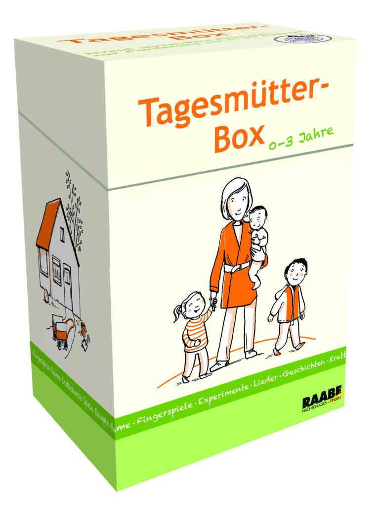 Rutschbild mit Fingerfarben | aus der Tagesmütter-Box