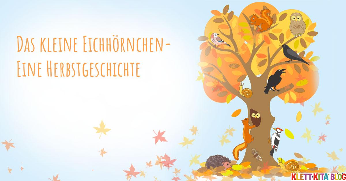 Eine Herbstgeschichte Mit Geschichtensäckchen Klett Kita