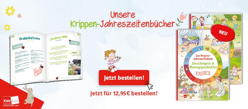 Banner_Das Krippen-Jahreszeitenbuch Spiellieder und Massagegeschichten